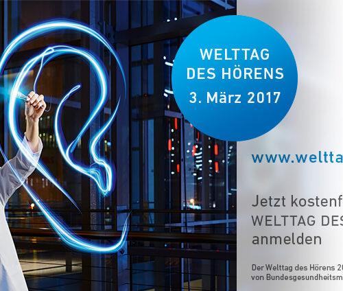 Welttag des Hörens am 3. März 2017