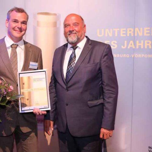 Preisverleihung – Unternehmer des Jahres in Mecklenburg-Vorpommern 2017