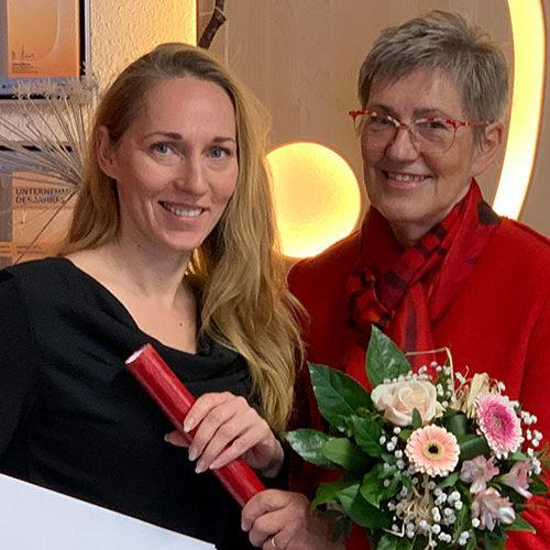 Neue Geschäftsleitung Frau Bianka Lampe