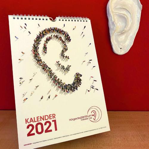 Er ist da! Unser Jahreskalender 2021