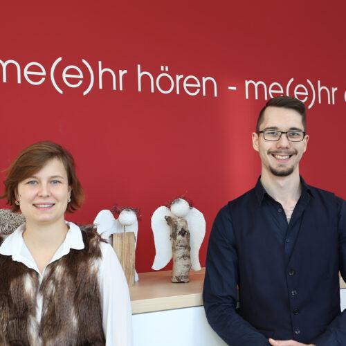 Herzlich Willkommen im Kollegium: Paula und Michel!